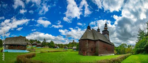 Stara Lubovna - open air folk museum, Slovakia