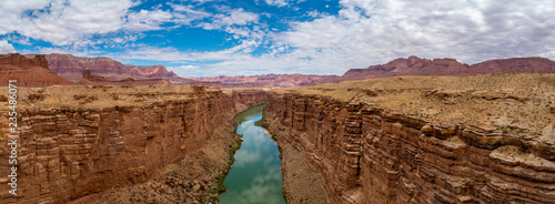 Valokuva Panoramic view of Colorado River, Marble Canyon Arizona
