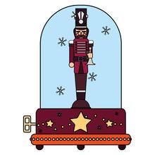 Christmas Music Box Design