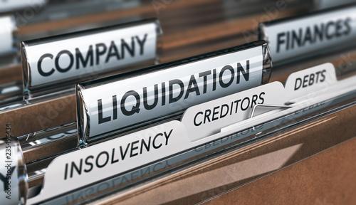 Fotografía  Company Insolvency And Liquidation