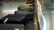 Reception Of Luggage At The Airport