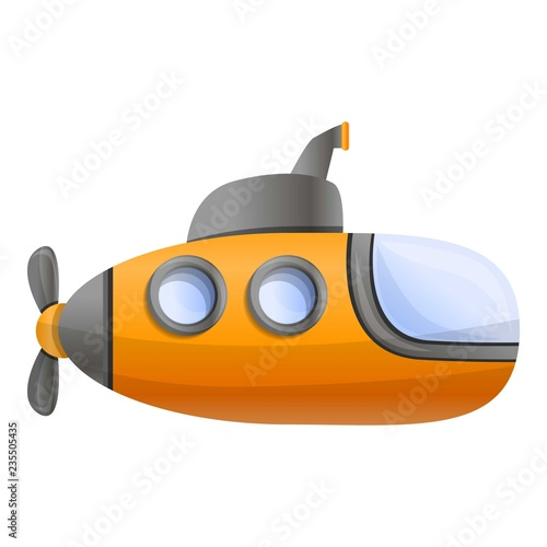 Photo  Yellow submarine icon
