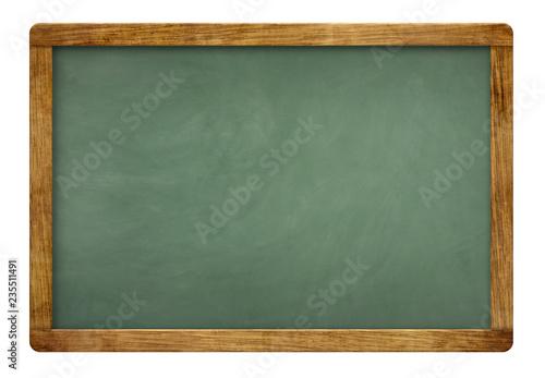 Fotomural  blank green slate blackboard