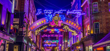 Lights Down Carnaby Street In ...