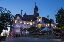 City Hall Of Montreal (Canada)