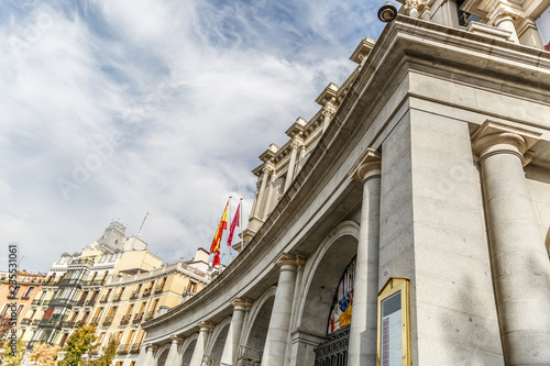 Photo  Special view of the Royal Theater in the city of Madrid