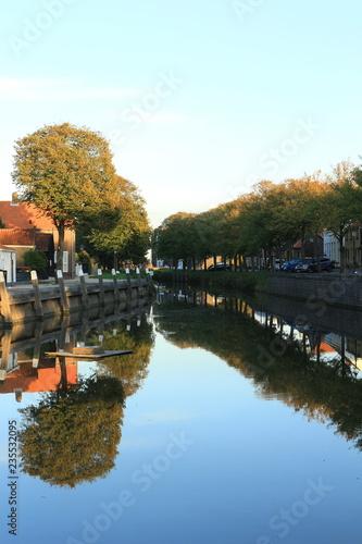 Fotografía  Ein Kanal in Goedereede