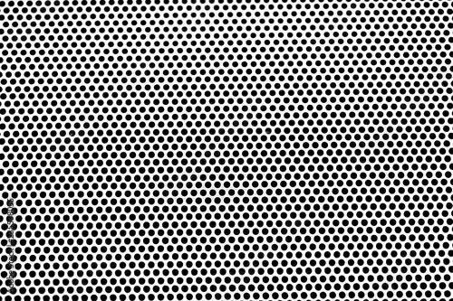 Fotografia Aluminum grating texture background. metal plate with holes