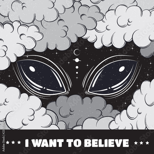 I want to believe Wallpaper Mural
