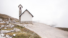A Small Chapel On The Top Of T...