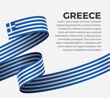 Greece Flag, Vector Illustrati...