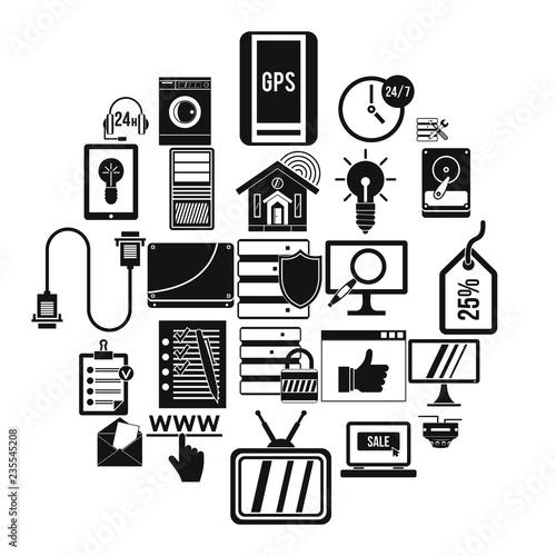 Fotografía  Helpful information icons set