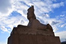 Sphinx In St. Petersburgh