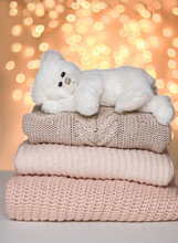 Cute White Little Teddy Bear L...