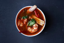 Soup Tom Yum With Shrimps