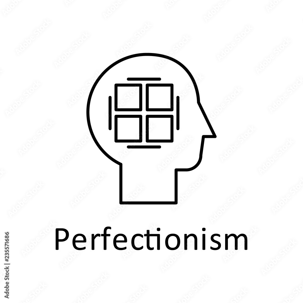 Photo Human, perfectionist in mind icon