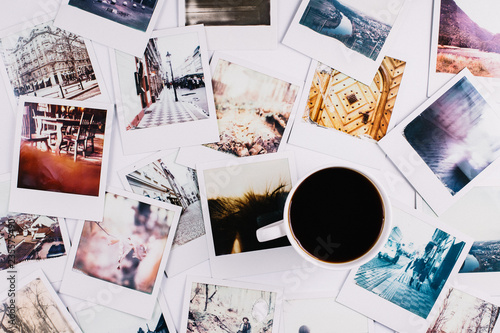 Valokuva Coffee and Polaroids