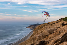 Paragliding At The Torrey Pine...