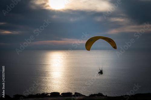 Paragliding at the Torrey Pines Gliderport, La Jolla, California, 12