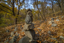 Late Autumn Cairn