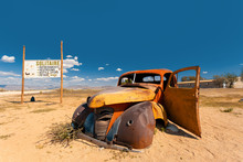 Abandoned Cars In Solitaire, N...