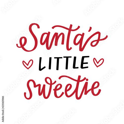 Fotografia Santa's Little Sweetie