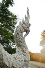 Serpent King Of Nagas Statue