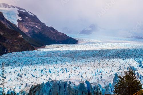 Poster Glaciers The glacier Perito Moreno on Lake Argentino