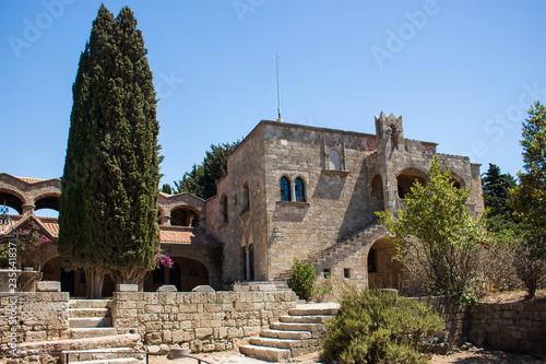 Fotografía  byzantinisches Kloster auf dem Filerimos