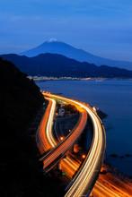 Aerial View Of Mountain Fuji W...