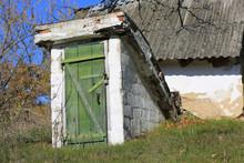 Abandoned Old Rural Cellar