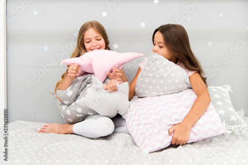 f7d485034e Pillow fight pajama party. Sleepover time for pillow fight. Doing whatever  they want. Girls sleepover party ideas. Soulmates girls having fun sleepover  ...