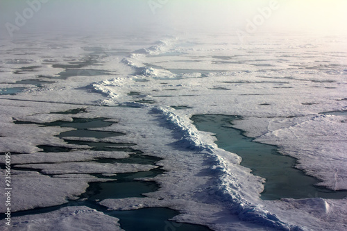 Fotografie, Obraz  Pack ice near the North pole