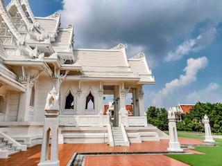 Royal Thai Monastery in Lumbini,  Nepal