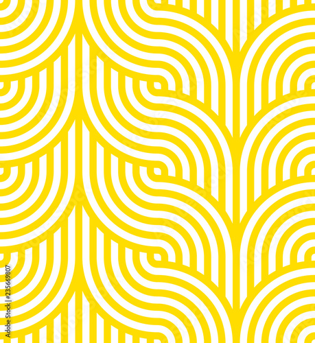 Photo  Vector yellow geometric pattern