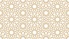 Seamless Gold Oriental Pattern...