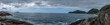 Panorama of the islands