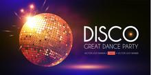 Disco Party Flyer Templatr Wit...