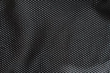Macro photo of cordura fabric. Nylon material