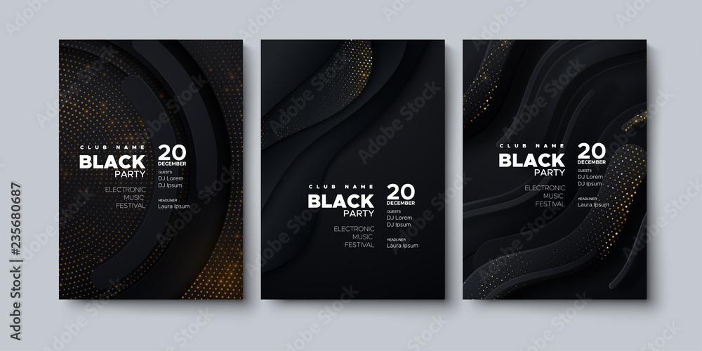 Fototapeta Modern poster design.