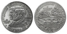 1937 Antietam Silver Half Dollar Coin