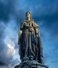 Monument To Catherine The Great, Saint Petersburg, Russia