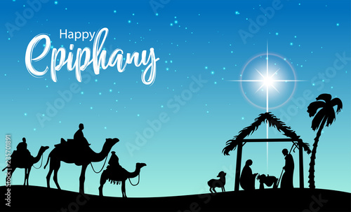 Foto Epiphany (Epiphany is a Christian festival)
