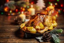 Roasted Turkey Or Chicken