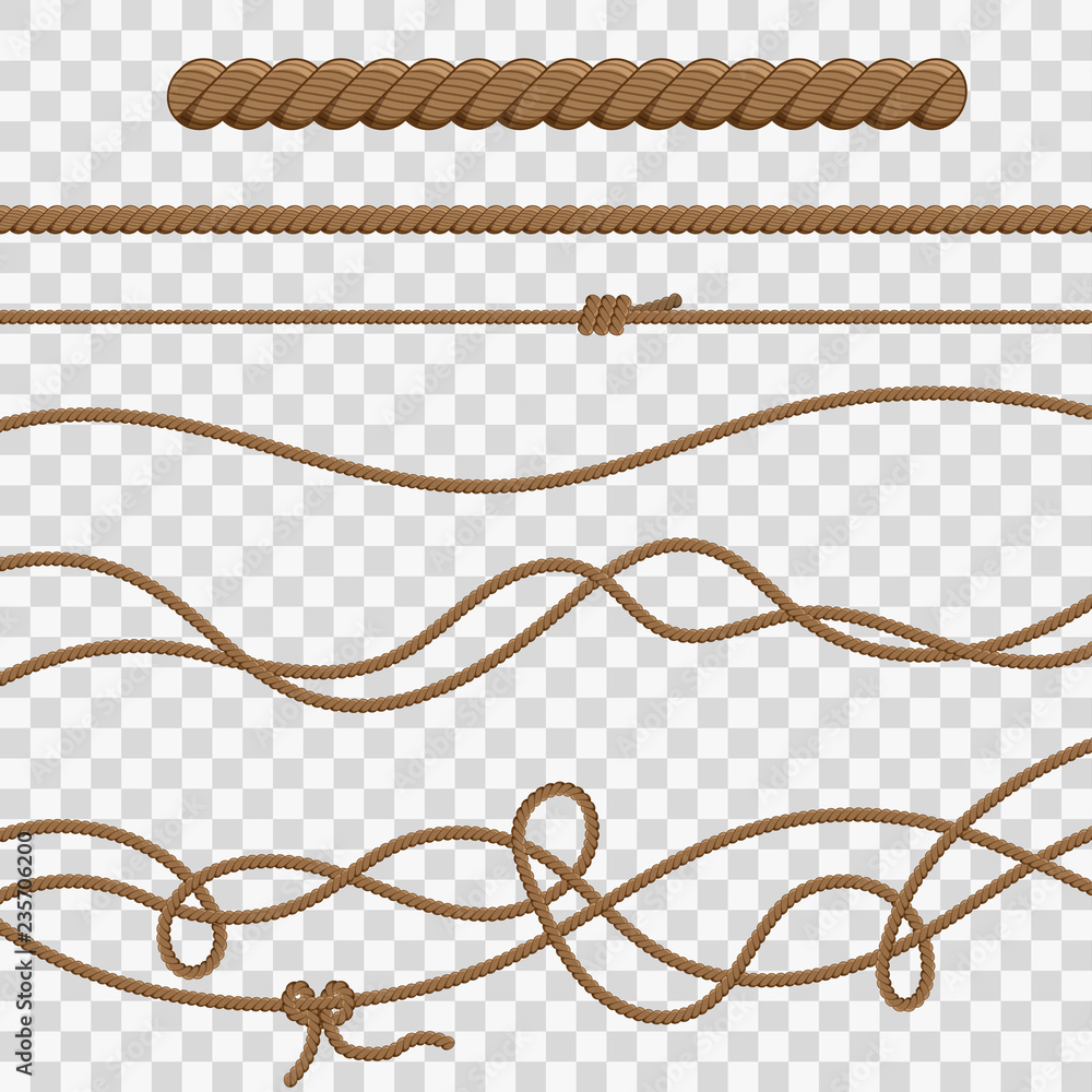 Fototapety, obrazy: Ropes and Knots