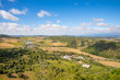 landscape of countryside from Vejer de la Frontera village in Cadiz (Andalusia, Spain, Europe)