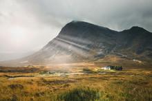 Paysage D'écosse Dans Les Highlands Rannoch Moor