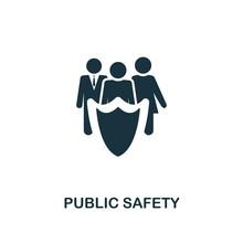 Public Safety Icon. Premium St...