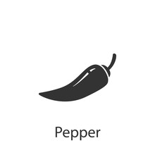 Pepper Icon. Element Of Drink ...