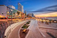 Tel Aviv Promenade. Cityscape ...